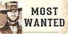 "CLINT EASTWOOD, JOSIE WALES, MOST WANTED LICENSE PLATE MEASURES 12"" X 6"" WITH SLOTS FOR EASY MOUNTING"