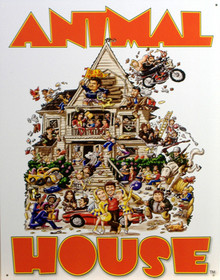 ANIMAL HOUSE MOVIE POSTER TIN SIGN (1)