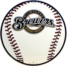 MILWAUKEE BREWERS BASEBALL SIGN