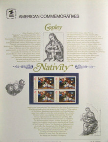 "PANEL # 72 U.S. COMMERATIVE PANELCHRISTMAS NATIVITY SCENE, ISSUED 10/27/1976 SCOTT #1701 STAMPS. PANEL PRINTED ON HEAVY PAPER MEASURING 8 1/2"" X 11 1/4"" WITH 4 CHRISTMAS NATIVITY SCENE, 13 CENT STAMPS PANELS ISSUED BY U.S. BUREAU OF ENGRAVING REPRESENT MANY HISTORICAL EVENTS IN OUR COUNTRY PLUS CULTURAL, WILDLIFE, FLORAL, MUSICAL, MOVIES AND COUNTLESS OTHER SUBJECTS, GREAT FOR COLLECTORS AND ENTHUSIAST OF A WIDE VARIETY OF INTEREST. GREAT TO FRAME FOR GIFTS! UP TO A DOZEN CAN BE SHIPPED USING PRIORITY MAIL FLAT RATE ENVELOPE, FOR THE PRICE OF ONE (REFUND GIVEN (IF APPLICABLE) AFTER PANELS ARE SHIPPED TAKES 3-4 DAYS FOR REFUND TO REACH YOUR CARD) OR YOU CAN SEND ONE OR MORE, FIRST CLASS (NOT INSURED) FOR LESS, YOUR CHOICE."