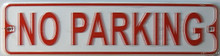 """SMALL METAL STREET SIGN MEASURES 12"""" X 3""""  WITH HOLES FOR EASY MOUNTING"""