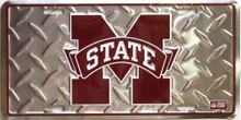 MISS STATE BULLDOGS COLLEGE SIGN