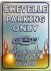 """THIS METAL SIGN MEASURES 11"""" X 17"""" WITH HOLES FOR EASY MOUNTING"""