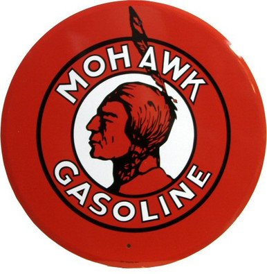 MOHAWK OIL GAS SIGN