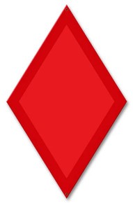 """THIS DIAMOND SHAPED SIGN MEASURES 11"""" X 17"""" WITH HOLE(S) FOR EASY MOUNTING"""
