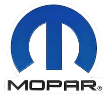 "CLASSIC MOPAR SHAPED SIGN MEASURES ABOUT 16"" X 15 5/8"" WITH HOLES FOR EASY MOUNTING"