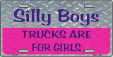"""THIS EMBOSSED METAL LICENSE PLATE MEASURES 12"""" X 7"""" WITH SLOTS FOR EASY MOUNTING.  IT IS A  S/O """"SPECIAL ORDER SIGN"""" THAT NORMALLY TAKES 2-3 WEEKS TO SHIP."""