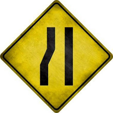 """ALUMINUM SIGN MEASURES 16 1/2"""" x 16 1/2"""" Diagonally, each side measures 12"""" with hole(s) for easy mounting. THIS IS A S/O """"SPECIAL ORDER"""" SIGN, IT TAKES 2-3 WEEKS TO SHIP."""