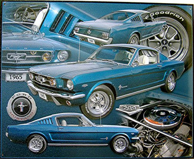 FORD MUSTANG 65 SIGN