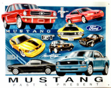 FORD MUSTANG CHRONOLOGY SIGN