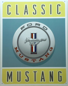 FORD MUSTANG CLASSIC SIGN