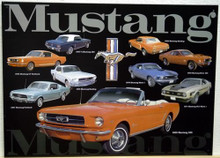 FORD MUSTANG COLLAGE