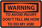"""THIS METAL SIGN MEASURES 12""""  X  8""""  WITH HOLES FOR EASY MOUNTING"""