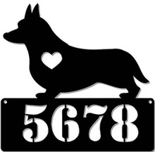 """CORGI LOVER ADDRESS PERSONALIZED SIGN 15"""" X 15"""" (Sublimation Process) Finish on Heavy Metal Sign S/O*   S/O* SPECIAL ORDER SIGNS NORMALLY TAKES 2-3 WEEKS TO SHIP. HAS HOLES FOR EASY MOUNTING THE FIXED SHIPPING PRICE ONLY APPLIES TO THE 48 CONTIGUOS STATES, FOR ALL OTHER COUNTRIES PLUS ALASKA AND HAWAII, SHIPPING WILL BE MORE. PLEASE SEND EMAIL WITH YOUR COMPLETE ADDRESS TO GET AN ACCURATE SHIPPING QUOTE"""