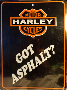 """THIS EMBOSSED METAL SIGN MEASURES 9"""" X 12"""" WITH ONE HOLE AT THE TOP FOR EASY MOUNTING."""