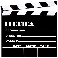 """THE CLAPPERBOARD MEASURES 12"""" X 12"""" X 1/8"""" AND HAS A ROPE ON THE BACK FOR EASY MOUNTING.  CLAPPER ARM DOES WORK! (KEEP YOUR FINGER CLEAR)"""