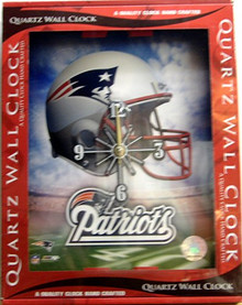 Photo of NEW ENGLAND PATRIOTS CLOCK