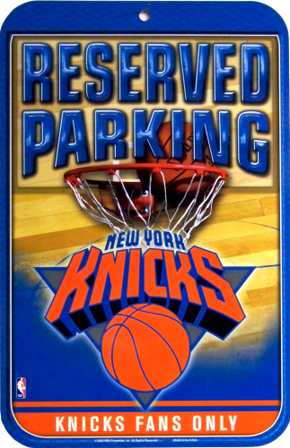 Photo of NEW YORK KNICKS PARKING ONLY