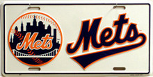 Photo of NEW YORK METS LICENSE PLATE