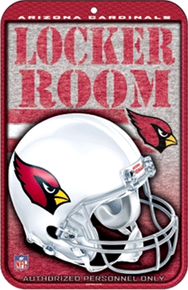 Photo of ARIZONA CARDINALS BASEBALL SIGN, GREAT COLOR AND DETAIL FOR THE ARIZONA CARDINAL FAN