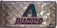 Photo of ARIZONA DIAMOND BACKS DIAMOND LICENSE PLATE
