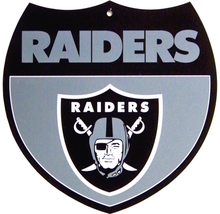 OAKLAND RAIDERS FOOTBALL INTERSTATE SIGN