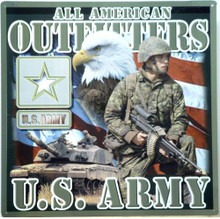 Photo of ARMY POSTER SQUARE, GREAT COLOR AND DETAIL