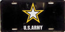 Photo of ARMY STAR METAL LICENSE PLATE