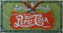 PEPSI COUPON SIGN