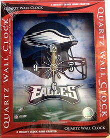 PHILADELPHIA FOOTBALL EAGLES CLOCK