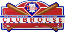 PHILADELPHIA PHILLIES BASEBALL CLUBHOUSE SIGN