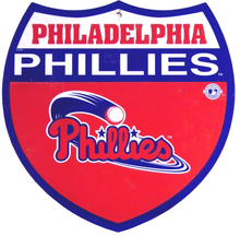 PHILADELPHIA PHILLYS BASBALL INTERSTATE SIGN