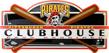 PITTSBURGH PIRATES BASEBALL CLUBHOUSE SIGN