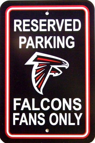 Photo of ATLANTA FALCONS FOOTBALL FAN PARKING SIGN