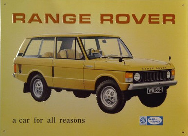 RANGE ROVER SIGN