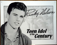 RICKY NELSON TEEN IDOL MUSIC SIGN