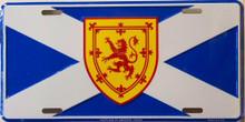 SCOTLAND ST. ANDREW LICENSE PLATE