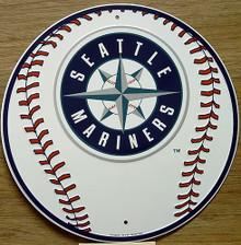 SEATTLE MARINERS BASEBALL SIGN