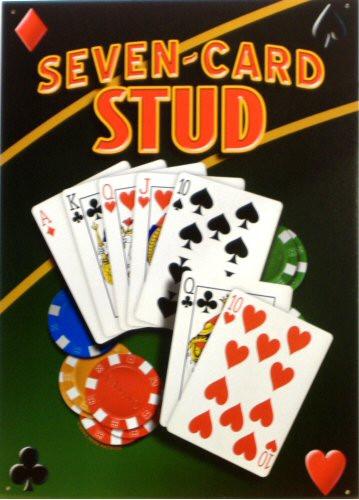 SEVEN CARD STUD POKER SIGN