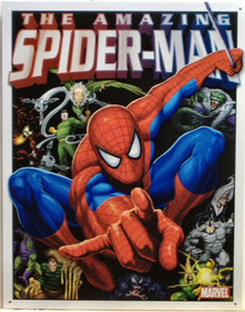 SPIDERMAN & FOES SUPER HERO SIGN