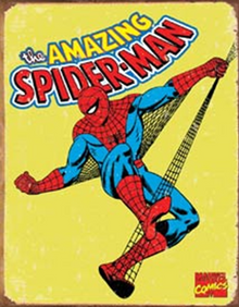 SPIDERMAN RETRO SUPER HERO SIGN