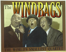 STOOGES - WINDBAGS MUSIC SIGN