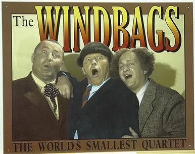 STOOGES - WINDBAGS MUSIC SIGN