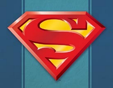 SUPERMAN LOGO SUPER HERO SIGN