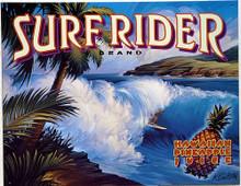 SURF RIDER SIGN