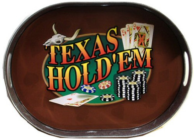 TEXAS HOLD'EM, OVAL POKER SIGN