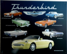 THUNDERBIRD, FORD COLLAGE SIGN