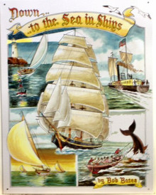 TO THE SEA SAILING SHIPS SIGN