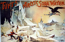 TUFTS ARTIC SODA NORTH SOFT DRINK SIGN
