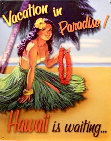 VACATION IN PARIDISE SIGN